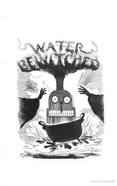Water bewitched. From The fairy tales of science, 1859.