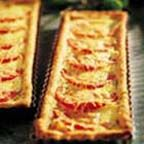 Tomato Parmesan Tart - This tomato and Parmesan cheese tart is as ...