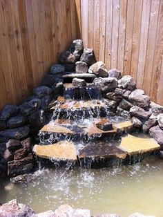 Backyard Waterfalls Design Ideas, Pictures, Remodel, and Decor - page 13
