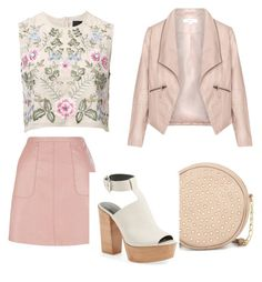 """""""Untitled #13"""" by adriana-zaharia on Polyvore featuring Neiman Marcus, Needle & Thread, Rebecca Minkoff, Zizzi, women's clothing, women, female, woman, misses and juniors"""