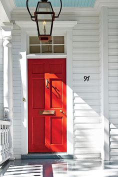 13 Bold Colors For Your Front Door Charleston Bright Red Doors
