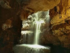 Inspiration for the fictitious Caves of the Gray Women in the Highland Gardens series. North Coast 500 Scotland, Sea Cave, Time Travel, Great Britain, Waterfall, Places To Visit, Caves, Gallery, Outdoor