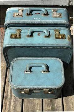 Vintage luggage <3