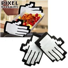 oven mitts for geeks who like to cook