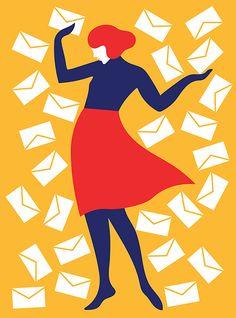 Stop Checking Email So Often - Olimpia Zagnoli