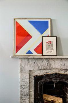 我們看到了。我們是生活@家。: 室內設計師Katie Martinez為紐約Greenwich Village的公寓展現出永恆的美感!