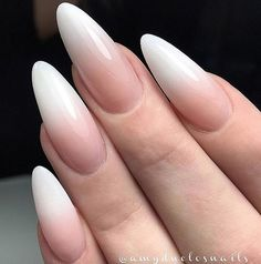 French Ombré Nail Design 1