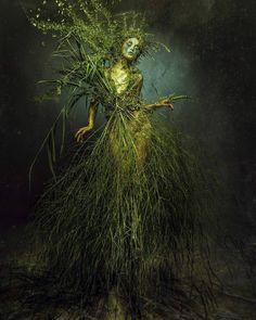 Fantasy World, Fantasy Art, Fantasy Photography, Fairy Art, Faeries, Mother Earth, Portrait, Illustration, Artwork