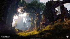 ArtStation - Horizon Zero Dawn - Natural Environments, Mas Hein