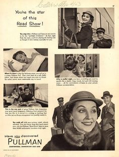 You're the star of this Road Show! 1953