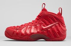Opinion: Nike Air Foamposite Pro 'Gym Red' looks like 'shiny toy' - Hardwood and Hollywood Cheap Sneakers, Red Sneakers, Sneakers Fashion, Sneakers Nike, Cheap Shoes, Nike Shoes Maroon, Red Shoes, Men's Shoes, Foams Shoes