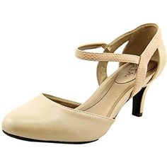 Life Stride Womens Pearl Two-Piece Pump,Taupe Synthetic,US 8 M Shoes to die for * This is an Amazon Associate's Pin. Locate the item on Amazon website simply by clicking the image.