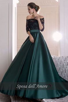 Buy A Line Dark Green Satin Off the Shoulder Sleeves Ruffles Lace Prom Dresses uk in uk.Rock one of the season's hottest looks in a burgundy homecoming dress or choose a timeless classic little black dress. Burgundy Homecoming Dresses, A Line Prom Dresses, Cheap Prom Dresses, Satin Dresses, Elegant Dresses, Pretty Dresses, Beautiful Dresses, Dress Prom, Dress Wedding