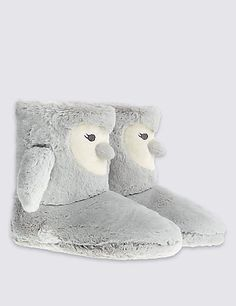 Penguin Slipper Boots | M&S size 6 or 7
