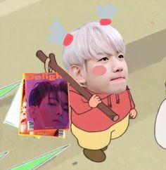 Exo Cartoon, Baby Cartoon, Exo Memes, Kyungsoo, Chanyeol, Nct, Perspective Sketch, Lil Baby, Exo Kai