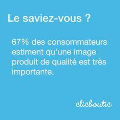67% des consommateurs estiment qu'une image produit de qualité est très importante. Motivation, Boarding Pass, Boutique, Motivational Quotes, Entrepreneurship, Tips, Products, Boutiques, Inspiration