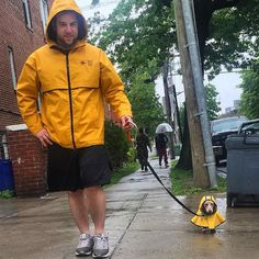 Whether you step out in matching outfits… | 19 Pictures Of Wieners That Will Get You A Little Too Excited