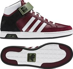 competitive price cd1b8 18d34 adidas-varial-mid-st-schuhe-rot-weiss-oliv