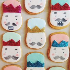nutcracker cookies for a custom order- such a cute party theme!