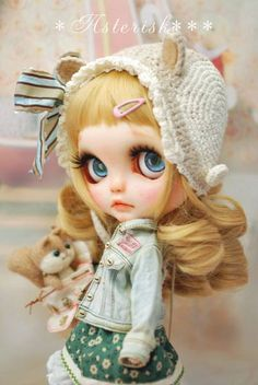 Custom Blythe dolls: Custom Blythe Chipmunk Princess by Asterisk - A Rinkya Blog