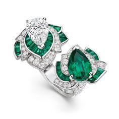 Van Cleef & Arpels Diamond & Emerald Bracelet