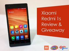 Xiaomi Redmi 1S Review: Unboxing and Aesthetics Part 1 (Giveaway) : Geeky Pinas