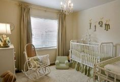 baby rooms | This nursery covers all the basics: a crib, a chest for clothing and ...