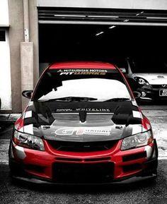 Mitsubishi EVO,s Factory's photo. Tuner Cars, Jdm Cars, Weird Cars, Cool Cars, Japanese Domestic Market, Mitsubishi Motors, Nissan Gtr R34, Street Racing Cars, Mitsubishi Lancer Evolution