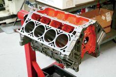 GM 383 Stroker LS V8 Build Part 1 28