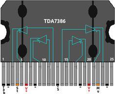 amplificador con TDA7386