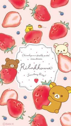 🌈 Be Positive 🌈 — RILAKKUMA WALLPAPER From Pinterest
