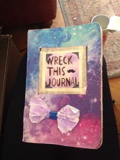 My wreck this journal