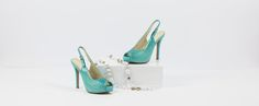 This highly sought after style delivers a stunning splash of aqua-blue which oozes Summer, fun and style. Leather High Heels, Aqua Blue, Vibrant Colors, Shoes, Style, Fashion, Swag, Moda, Zapatos