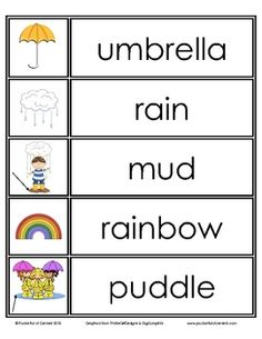This free download includes 25 printable spring word wall words!  Use them on a seasonal word wall for journal writing, word scrambles, and creativ...