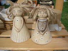 KERAMIKA - Hledat Googlem Kids Class, Clay Art, Nativity, Diy And Crafts, Wings, Fairy, Pottery, Dolls, Handmade