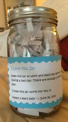 Love you jar