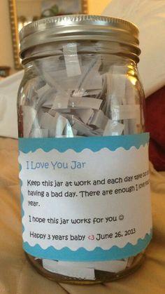 Love you jar