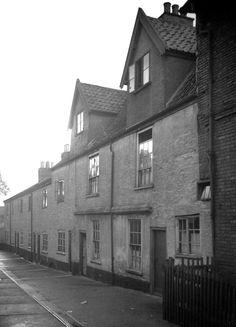 Bathhouse yard Norwich England.