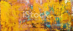 Abstract yellow arts backgrounds. Royalty Free Stock Photo