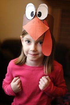 cute turkey hat Más
