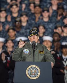 Finally.......a real Commander in Chief.