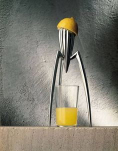 Alessi flagship store - via Manzoni 14/16. April 14: celebration of Philippe Starck's Juicy Salif with special editions and an overview of the products of the last 25 years.