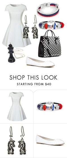 """Chess the Musical- John Adams"" by broadway-forever ❤ liked on Polyvore featuring Glamorous, Bling Jewelry, ALDO, voteforindependency and BroadwayThemeFav"
