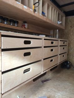 how to make cargo drawers