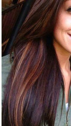 Hair Color Balayage, Hair Highlights, Hair Color And Cut, Auburn Hair, Face Hair, Brunette Hair, Hair Today, Gorgeous Hair, Dyed Hair