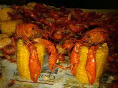 Soooo Louisiana...crawfish hanging out
