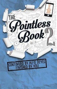 The Pointless Book Bk. 2 : Continued by Alfie Deyes Finished by You by Alfie Deyes Paperback) for sale online Youtuber Books, Youtuber Merch, Youtubers, The Pointless Book, Pointless Blog, Good Books, Books To Read, My Books, Amazing Books