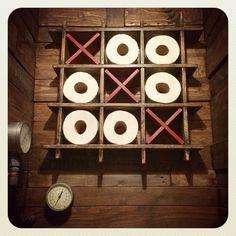 Toilet Roll Holder van SalvageAndReclaimed op Etsy