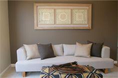 Theme display homes, neutral tones, color themes, soft furnishings, home ar Boho Duvet Cover, Display Homes, Eclectic Decor, Neutral Tones, Grey Walls, Home Decor Bedroom, Soft Furnishings, Home Art, Rustic Decor