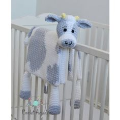 Best Trend free crochet cow blanket pattern This youngster blanket crochet patterns is so versatile. Make this crochet cow youngster blanket with spots or just use this pattern to make a white c. Crochet Cow, Manta Crochet, Chunky Crochet, Crochet Baby Booties, Ravelry Crochet, Free Crochet, Crochet Blanket Patterns, Baby Blanket Crochet, Practical Baby Shower Gifts